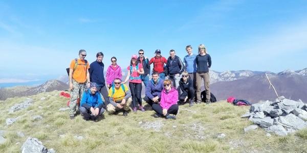 I. vikend planinarske škole-Baške Oštarije 2016