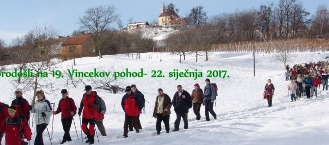 19.VINCEKOV POHOD poziv