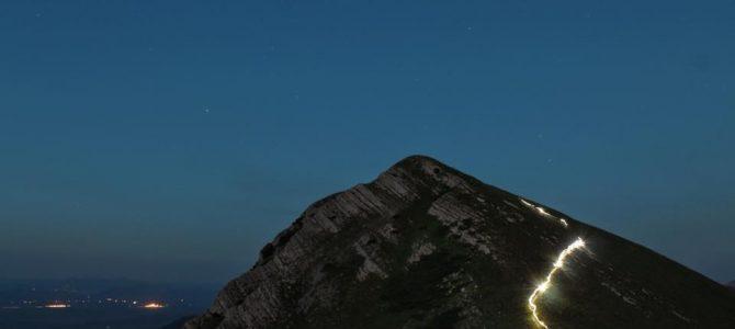 Noćni uspon na Visočicu 2018