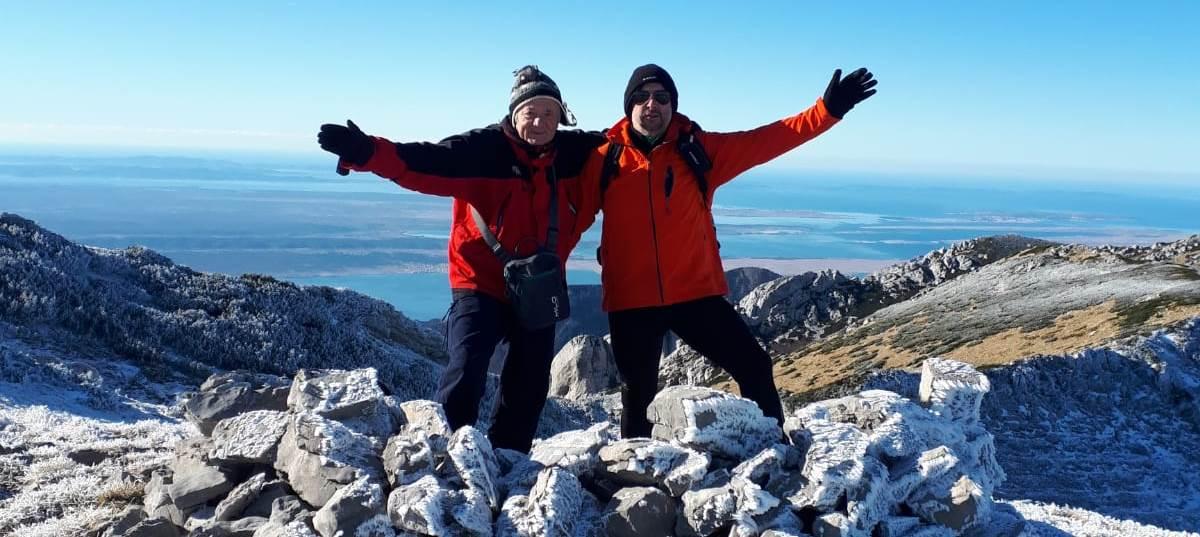 Zimska šetnja do Vaganskog vrha